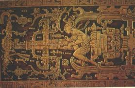 Ancient Mayan Artifact depicting a spaceship?