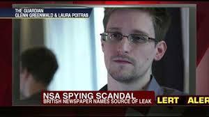 Edward Snowden, NSA Spy grid whistleblower