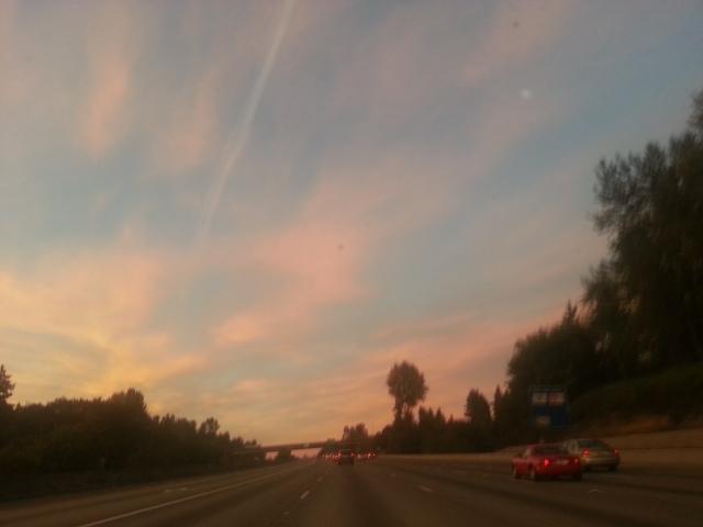 Sunrise Chemtrails