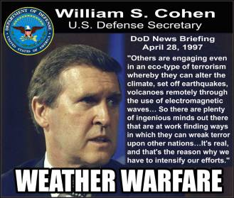 DoD News Briefing; Secretary of Defense William S.Cohen